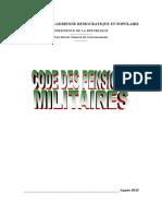 Code Des Pensions Militaires
