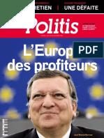 Politis - 6 Au 12 Octobre 2016