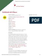 Rabiblando Del Orinoco _ Libro Rojo de La Fauna Venezolana