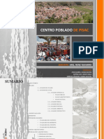 Informe de Centro Artesanal