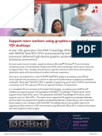 Support more workers using graphics-accelerated VDI desktops