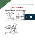 Ordena Imagens - Pizza