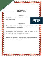 OBJETIVOS (Autoguardado)