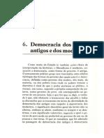 Bobbio - Democracia Dos Antigos e Dos Modernos
