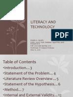 Literacy and TechnologyFinalPresentation