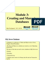 Module 03_Creating and Managing Databases