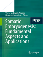 Somatic Embryogenesis Book PDF