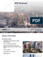 New York City Economic Development Corp.'s Amazon pitch