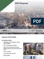 New York City Economic Development Corp.'s Amazon pitch