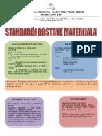 RTS Standardi Dostave Materijala