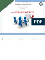 Bitácora Del Docente 2015 - 2016.