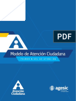 Modelo de Atencion Ciudadana Vf2016