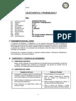 II-501 Estadistica y Probabilidad II