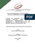 Calidad Proceso Contencioso Alcedo Marky Luis Antonio