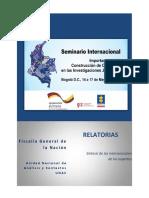Seminario Internacional Construcción de Contextos