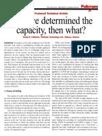 Capacity of Piles Davission Method