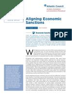 Aligning Economic Sanctions
