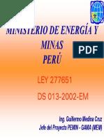Presentacion Medina Ley Mineria Artesanal Ppt