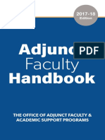 adjunct faculty handbook 2017-18 digital