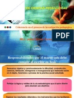 Coherencia Proceso Investigacion Pedagogica