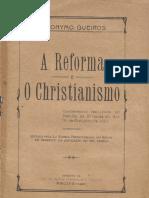 A Reforma e o Christianismo 2