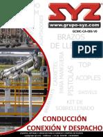 Catalogo Syz- Conduccion Conexion y Despacho v0
