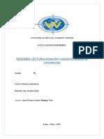 Resumen de Lectura - Definición y Conceptos Básicos de Contabilidad