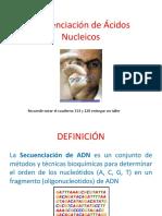 7. Secuenciación de Ácidos Nucleicos St