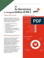 Centro de Servicios Compartidos - Encuesta PWC