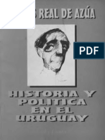 Real de Azúa, Carlos - Historia y política en el Uruguay