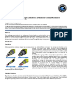 Current Trends and Design Limitations of Subsea Control Hardware
