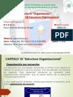Clase Cap18estructura Organizacional2daparte