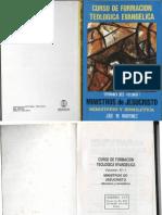 Ministerio y Homiletica