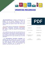 Herramientas Mecanicas Tipos Manuales y Eléctricas