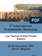 5th International Probabilistic Workshop