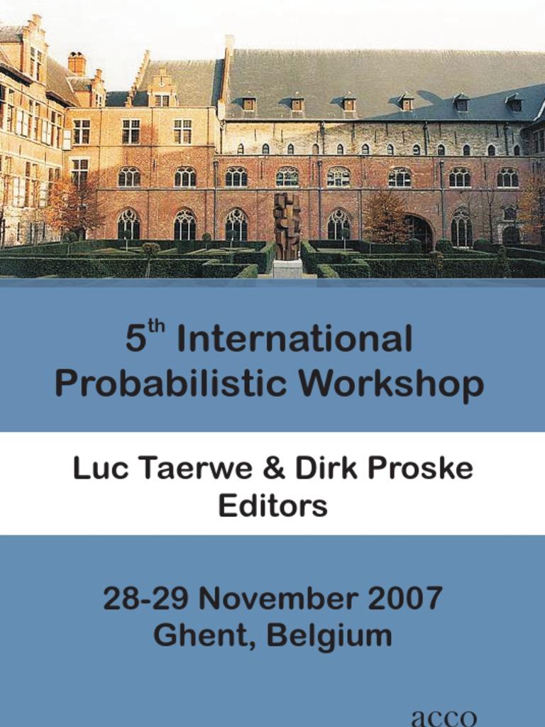 5th International Probabilistic Workshop Thermal