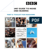 Safety-Musician Noise Guide Part II