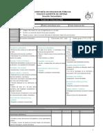 Plan de Evaluación de Español 1º (B2)