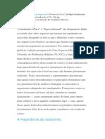 Prefácio à Edição Portuguesa de Pensar de a a Z