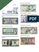 Billetes de America