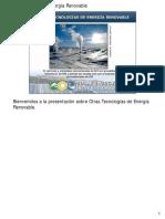 L08 Otras Tecnologías de Energía Renovable Notas Digitales V15.8