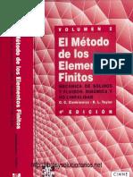 El Método de Los Elementos Finitos Volumen 2 4ta Edicion O. C. Zienkiewicz, R.L. Taylor