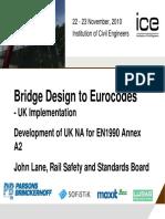 Bridge Design to Eurocodes - UK Implementation