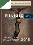 Religion 2018 Catalog