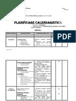 Planificare Calendaristica Cls Vi Cav