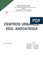 centros urbanos anzoategui