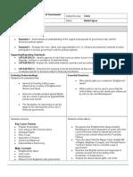 portfolio unit plan