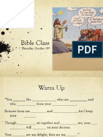 thurs oct 19 bible
