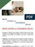Ciencias Forenses - Clase 4 - Abuso Contra La Integridad Sexual