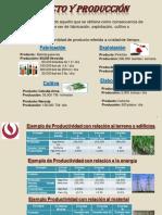 EJERCICIOS DE INDICADORES PRODUCTIVOS - 2017